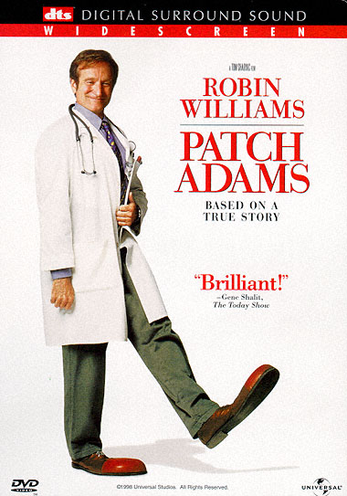 essays on patch adams movie Patch adams the focus of the movie was to objectively look upon personality, more so at extravert and introvert personalities patch being a very extravert, to his.