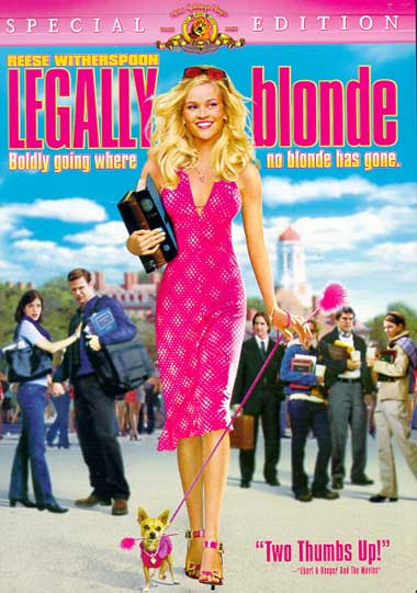 the leader in elle woods in legally blonde a movie by robert luketic Legally blonde (2001) elle woods (reese robert luketic production: metro subscribe to the yesmoviesorg mailing list to receive updates on movies.